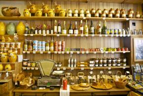 Olie/eddikedressing og Olivenolie og eddiker i Nice, Frankrig