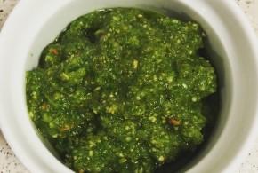 grøn LCHF Pesto