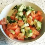 Tomatsalat med grov pesto1