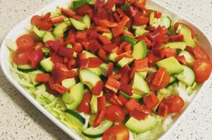 lækker og hurtig lchf avokado-salat