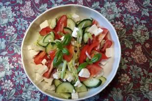 lækker lchf salat med feta
