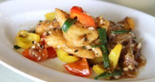 Stegt torsk med snackpeber og chili