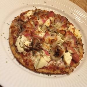 LCHF blomkålspizza