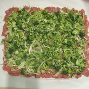 farsbrød med broccoli og porre