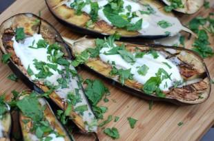 Ovnbagt aubergine - Let og lækkert LCHF tilbehør