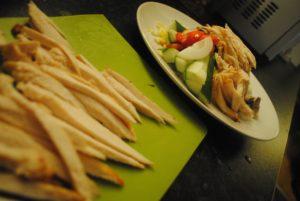 Thai inspireret stegt kylling med karry